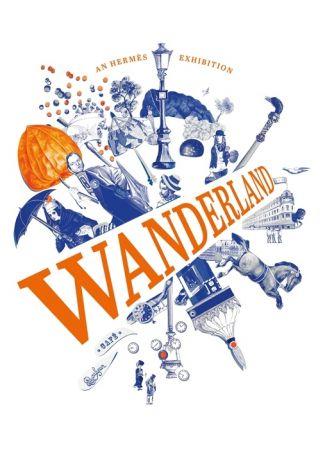 Hermès Wanderland愛馬仕「奇境漫遊」巡迴展